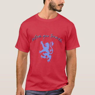Alba gu brath Scottish Independence Lion Rampant T-Shirt