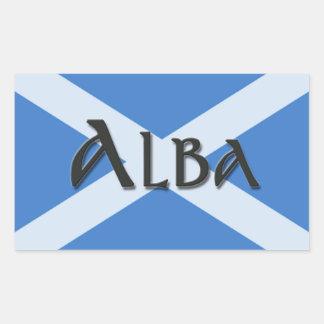 Alba Saltire Sticker