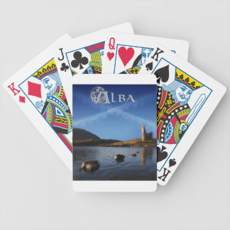 Alba, Scotland, Caledonia Bicycle Playing Cards