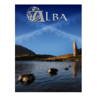 Alba, Scotland, Caledonia Postcard