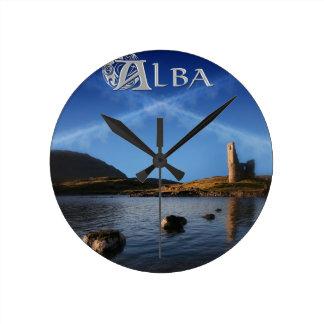 Alba, Scotland, Caledonia Round Clock