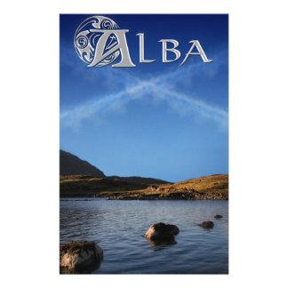 Alba, Scotland, Caledonia Stationery