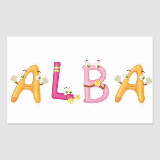 Alba Sticker