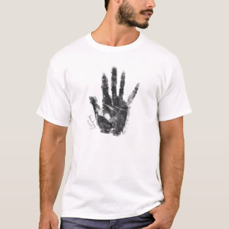 Alban Berg Handprint and Signature T-Shirt