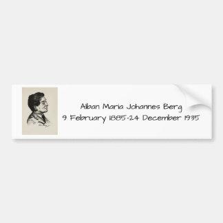Alban Maria Johannes Berg Bumper Sticker