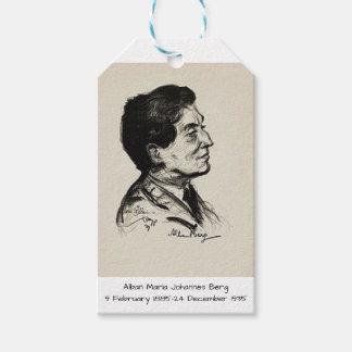 Alban Maria Johannes Berg Gift Tags