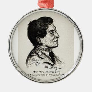 Alban Maria Johannes Berg Metal Ornament