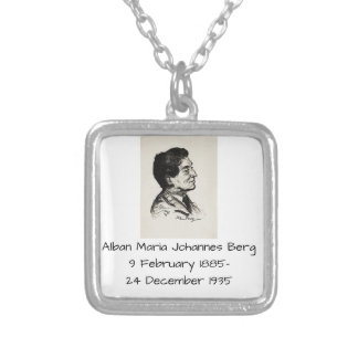 Alban Maria Johannes Berg Silver Plated Necklace