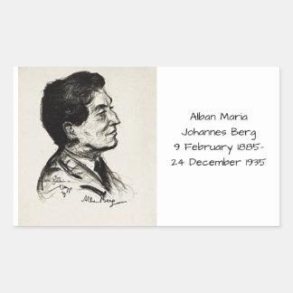 Alban Maria Johannes Berg Sticker
