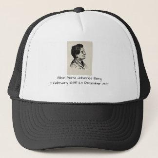 Alban Maria Johannes Berg Trucker Hat