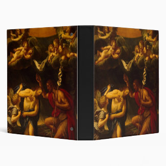 Albani Francesco Baptism of Christ 3 Ring Binder