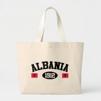 Albania 1912 large tote bag