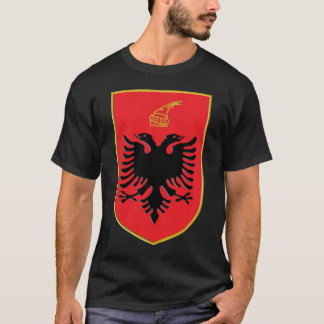 Albania 3d Ensignia T-Shirt