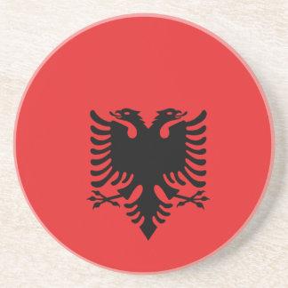 Albania All over design Beverage Coasters