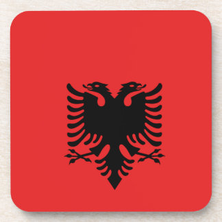 Albania All over design Beverage Coasters