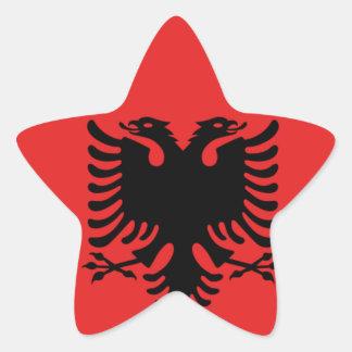 Albania All over design Star Sticker