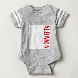 Albania Baby Bodysuit