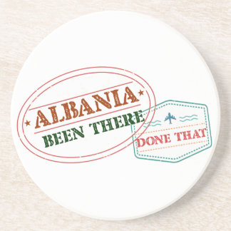 Albania Been There Done That Coasters