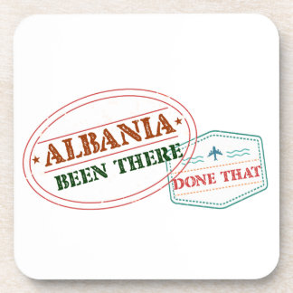 Albania Been There Done That Drink Coasters