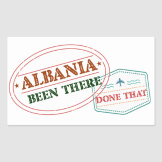 Albania Been There Done That Sticker