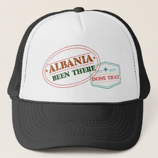 Albania Been There Done That Trucker Hat