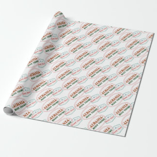 Albania Been There Done That Wrapping Paper