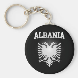 Albania Coat of Arms Basic Round Button Keychain