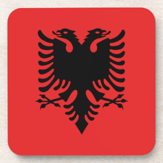 ALBANIA DRINK COASTER