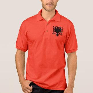 Albania Eagle Red Polo Shirt