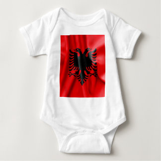 Albania Flag Baby Jersey Bodysuit