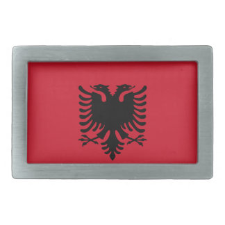 Albania Flag Belt Buckle