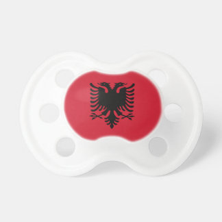 Albania Flag Booginhead Pacifier