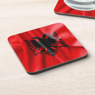 Albania Flag Coasters