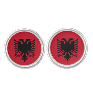 Albania Flag Cuff Links