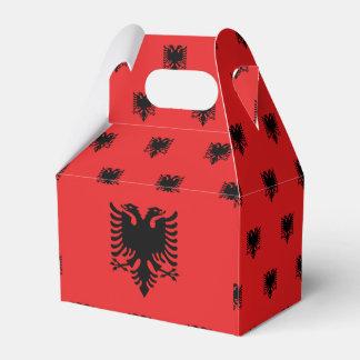 Albania Flag Favor Box