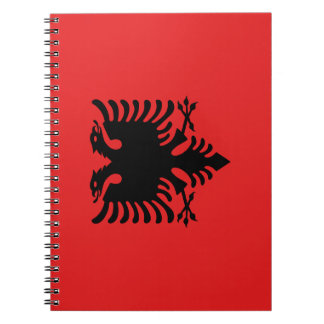 Albania Flag Notebooks