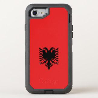 Albania Flag OtterBox Defender iPhone 7 Case