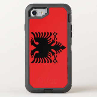 Albania Flag OtterBox Defender iPhone 8/7 Case