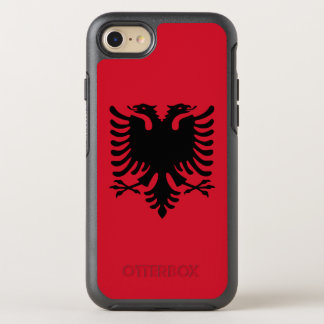 Albania Flag OtterBox Symmetry iPhone 8/7 Case
