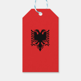 Albania Flag Pack Of Gift Tags