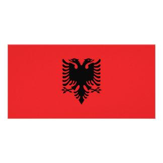 Albania Flag Photo Cards