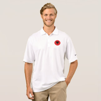Albania Flag Polo Shirt