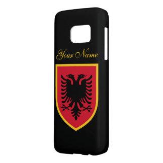 Albania Flag Samsung Galaxy S7 Case