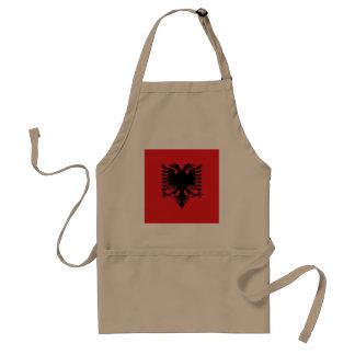 Albania Flag Standard Apron
