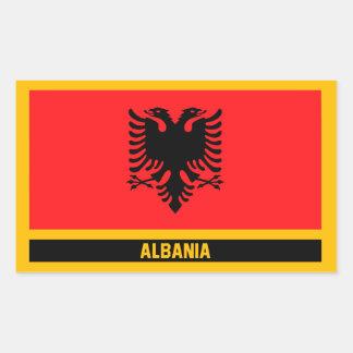 Albania Flag Sticker