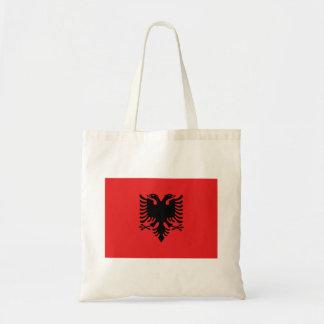 Albania Flag Tote Bag