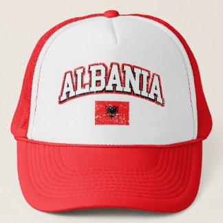 Albania Flag Trucker Hat