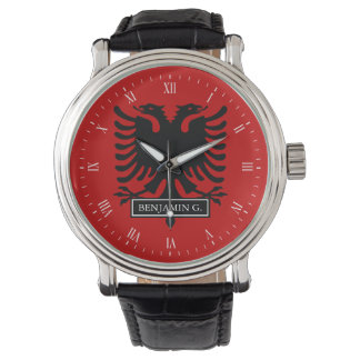 Albania Flag Watch