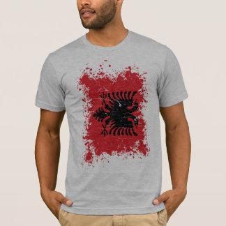Albania Grunge Flag T-Shirt