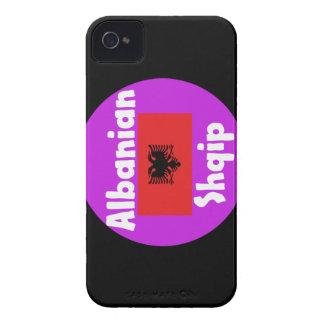 Albania Language And Flag Design Case-Mate iPhone 4 Case
